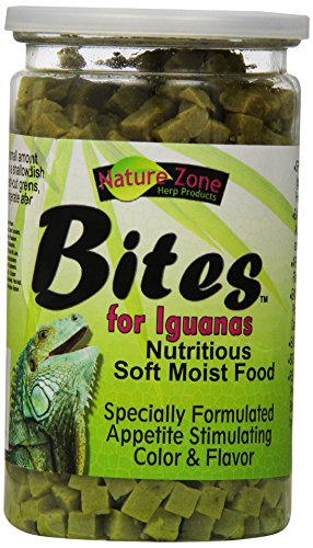 Pet Zone Nature (Nature Zone Snz54631 Iguana Bites Soft Moist Food, 9-Ounce)