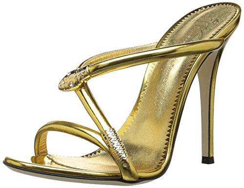Sandalo Con Femminile Tacco E800085 Giuseppe Zanotti Oro 7T1Fx5Uq
