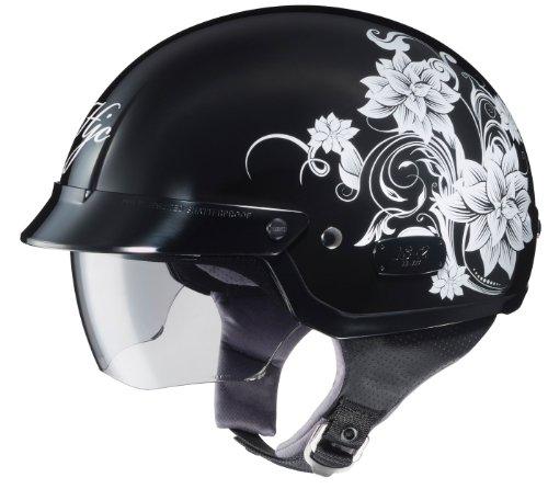 HJC IS-2 Blossom Motorcycle Half-Helmet (MC-5, Small) 2 Blossom Helmet