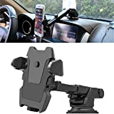 Hovast Cmbb Phone Holder Universal Dashboard 360°Rotation Windscreen Suction Cup Non-Slip Car Mount Cradle Dash Strong Sticky Gel Pad