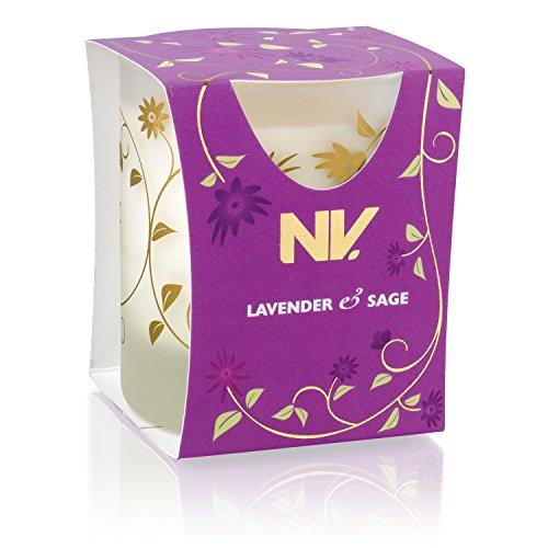 NV 1-Piece Velvet Collection Lavender & Sage Candle by NV