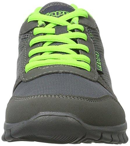 Kappa Unisex-Erwachsene Stay Sneaker Grau (1330 Anthra/Green)