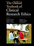img - for The Oxford Textbook of Clinical Research Ethics book / textbook / text book