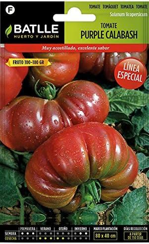 Semillas Hortícolas - Tomate Purple Calabash - Batlle: Amazon.es ...