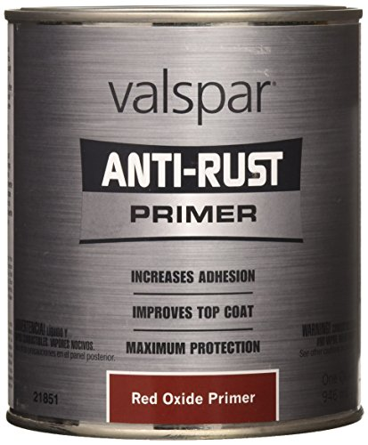 (Valspar 21851Q Red Oxide Primer Enamel - 1 Quart)