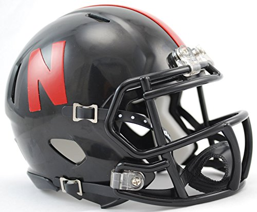 Riddell NCAA Nebraska Cornhuskers Speed Mini Helmet by Riddell