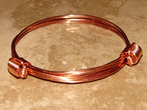 Elephant Hair Bracelet with Copper