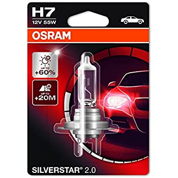 osram h7 silverstar 2 0 halogen headlight. Black Bedroom Furniture Sets. Home Design Ideas