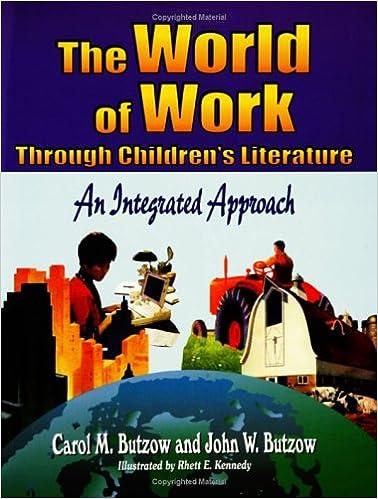 The World of Work Through Children's Literature: An Integrated Approach