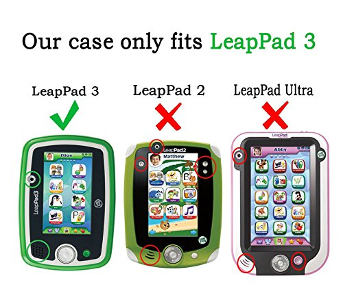 Leap Pad 3. Built kid-tough and thoroughly drop tested, the LeapPad3 tablet is perfect for worry-free fun. Features a shatter safe 5