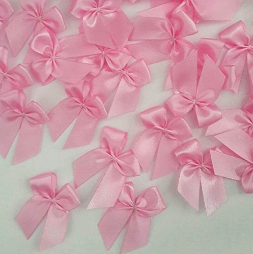100 Pcs Pink Ribbon Bows Satin Crafts Vi - Natural Shells Needlepoint Shopping Results