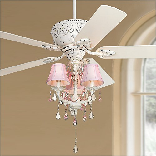Pretty-in-Pink Pull-Chain Ceiling Fan Light Kit by Universal Lighting and Decor (Image #2)