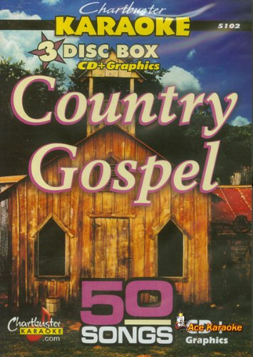 Chartbuster Karaoke CDG 3 Disc Box Set 5102 - Country Gospel ()