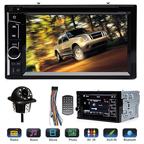 "o with Backup Camera, Support Bluetooth Mirror Link 6.2"" Touch Screen CD DVD Player AM FM Radio Receiver in-Dash for Ford Explorer 2002 2003 2004 2005 ()"