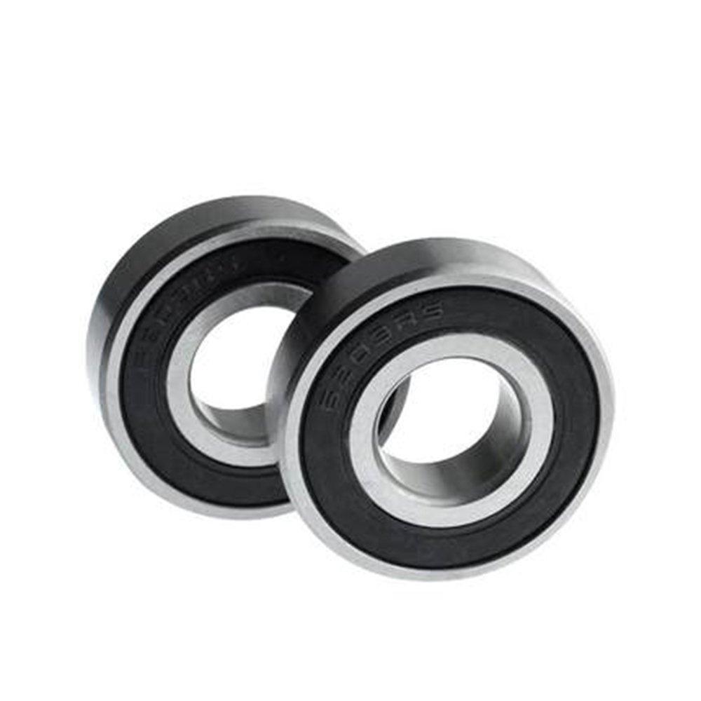 motores m/áquinas /2RS Rodamiento de Bolas para CNC 2pcs 6203/no est/ándar rodamientos de goma sellada 17/x 42/x 12/mm 6203/una//42/