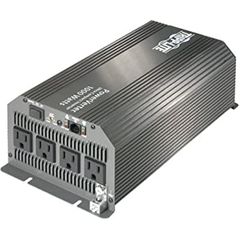 Tripp Lite PV1000HF PowerVerter Ultra-Compact Inverter 12V to 120VAC 1000 Watts 4 5-15R Outlets