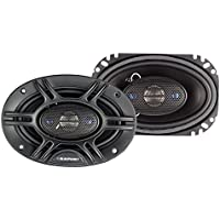 Blaupunkt 4 X 6 4-Way Coaxial Speaker 240W