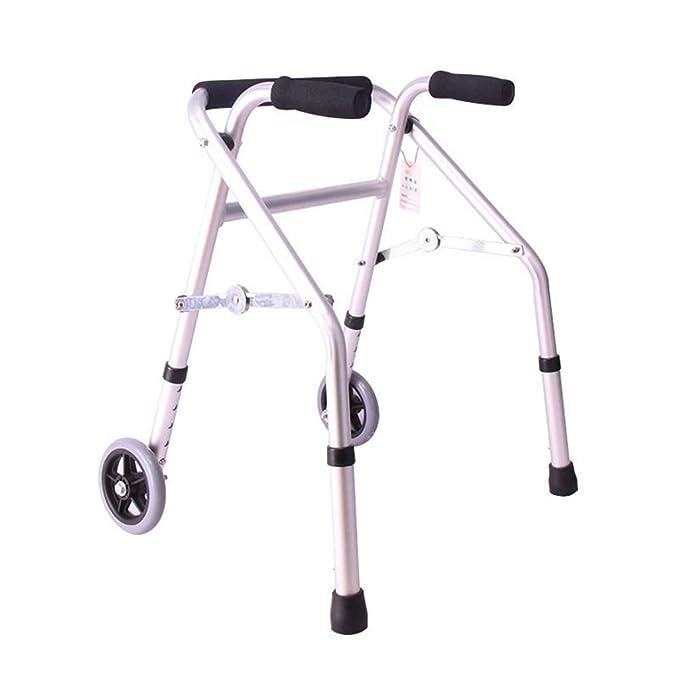 EGCLJ Andador Anciano con Manija - Altura Ajustable Y ...