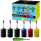 YATUNINK Premium Refill Ink Kit for HP 910 910XL Ink Cartridge Work for HP OfficeJet 8020 OfficeJet 8022 OfficeJet 8025 Offic