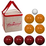 Budweiser Bocce Ball Set - Regulation Size with Carrying Case