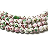 Wall of Dragon 8MM 100pcs/lot Bead Round Assorted Colorful Glass Beads for Women Bracelet Making Whole or Retail (BBD016)