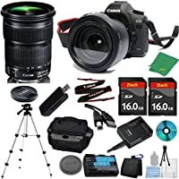 Canon EOS 5D Mark III DSLR with 24-105mm IS STM + 2pcs 16GB Memory Card + Case + Card Reader + Tripod + 6pc ZeeTech Starter Set - International Version