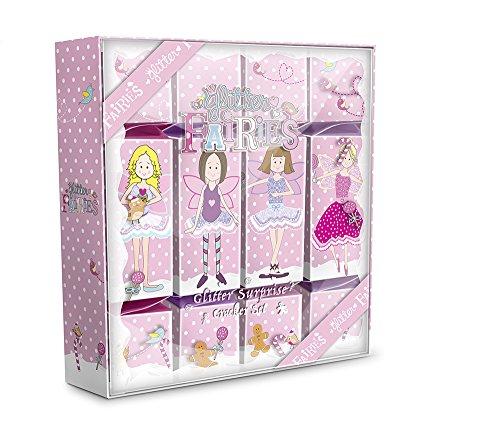 Birthday Crackers - Grace Cole Glitter Fairies Surprise Luxury Cracker Set