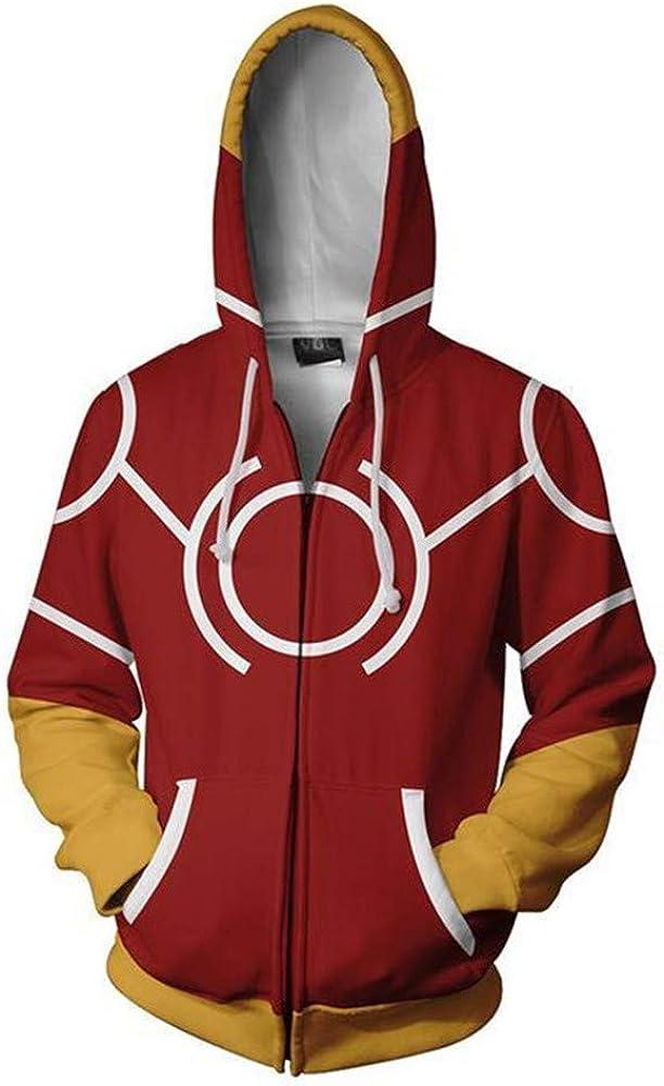 3D Hoodie Boku No Hero Academia My Hero Academia Izuku Midoriya Hoodies Cosplay Costume Training Jacket Unisex (red, XXXL) 51WTUNUUXJL