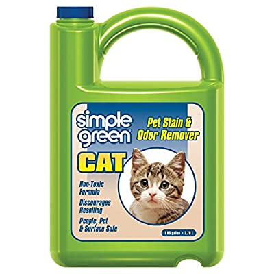 Cat Litter Simple Green Cat Stain & Odor Remover – Enzyme Cleaner... [tag]