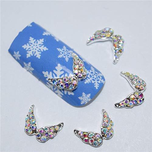 3D Nail Art Decorations,Alloy Nail Charms,Nails Rhinestones Nail Supplies #070 10 ()