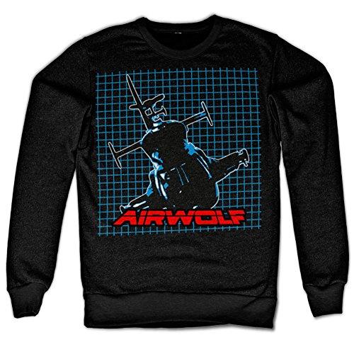 Entrenamiento Oficial Logo Hombres Los Retro Camisa Pattern De Nuevo Airwolf 0Ew4x