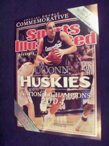 2004 Ncaa Basketball Champions - 2004 UConn Womens Basketball NCAA Champions Diana Taurasi Sports Illustrated POSTER