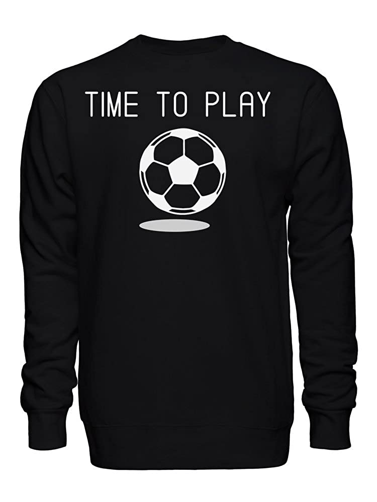 graphke Time to Play Football Unisex Crew Neck Sweatshirt
