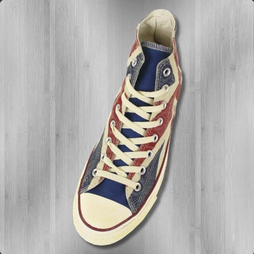 Converse Schuhe Chucks CT AS Hi UK Flag 135504 C blue red - 40