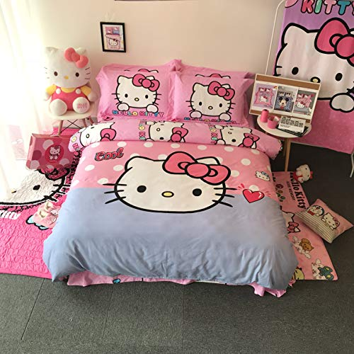 hello kitty bed sheets queen - 9
