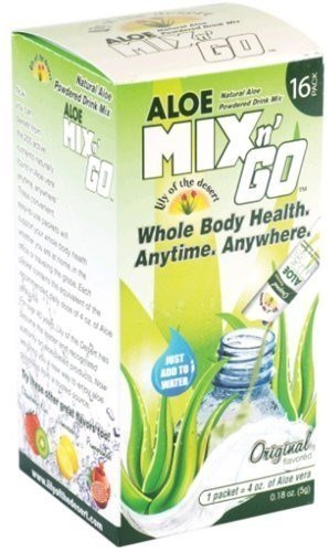 4 Ounce Lily - Lily Of The Desert Lily Desert Aloe Mix N Go Lemonade Ogc 4Oz by Lily Of The Desert