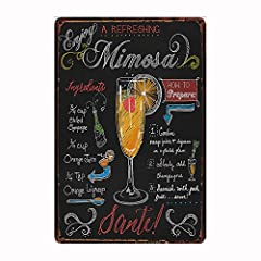 1. There may be little color difference because of different light environment.  2. Some paintings appear to have the effect of rust, it is printed up (do the old), not really rusty. 3. An interesting bar sign which teach you how to make a mi...