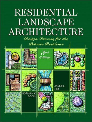 Pdf Science Residential Landscape Architecture: Design Process for the Private Residence (3rd Edition)