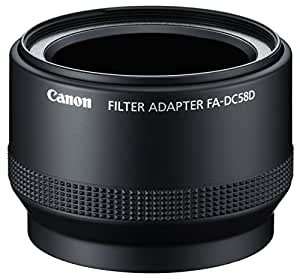 Canon 6925B001 - Adaptador de filtros FA-DC58D