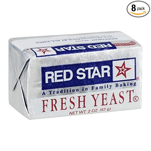 Red Star Fresh Yeast Cake 2 Ounce Pack Of 08 Amazon Com Grocery Gourmet Food