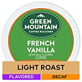 Green Mountain French Vanilla Decaf Single Serve Keurig Certified K-Cup pods for Keurig brewers, 24 Count