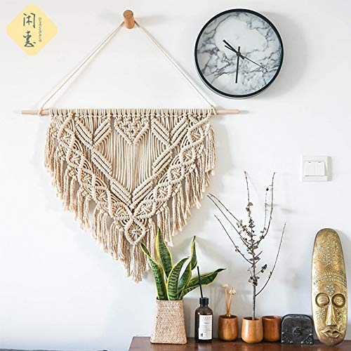 Bella's garden Mini Dream Catchers Boho Wedding Party Favor Baby Shower Birthday Gift Bedroom Wall Ornaments Car Hanging Decoration Tassels Set of 3 (S4)