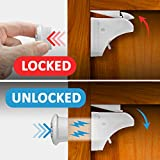 Child Proof Cabinet Locks with NEW Install Tool - Magnetic Child Safety Locks - Baby Proof Drawers - No Tools Or Screws Needed (12 Locks + 3 Key + Install Tools) For Easier Installation