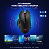 VicTsing 2.4G Wireless Gaming Mouse, 5 Adjustable DPI Mice(4800, 2000, 1600, 1200, 800), 7 Button for PC Laptop Computer Macbook Gamers