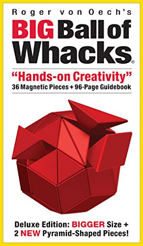 Creative Whack Company Roger von Oech's Big Ball of Whacks, Red by Creative Whack (Image #8)