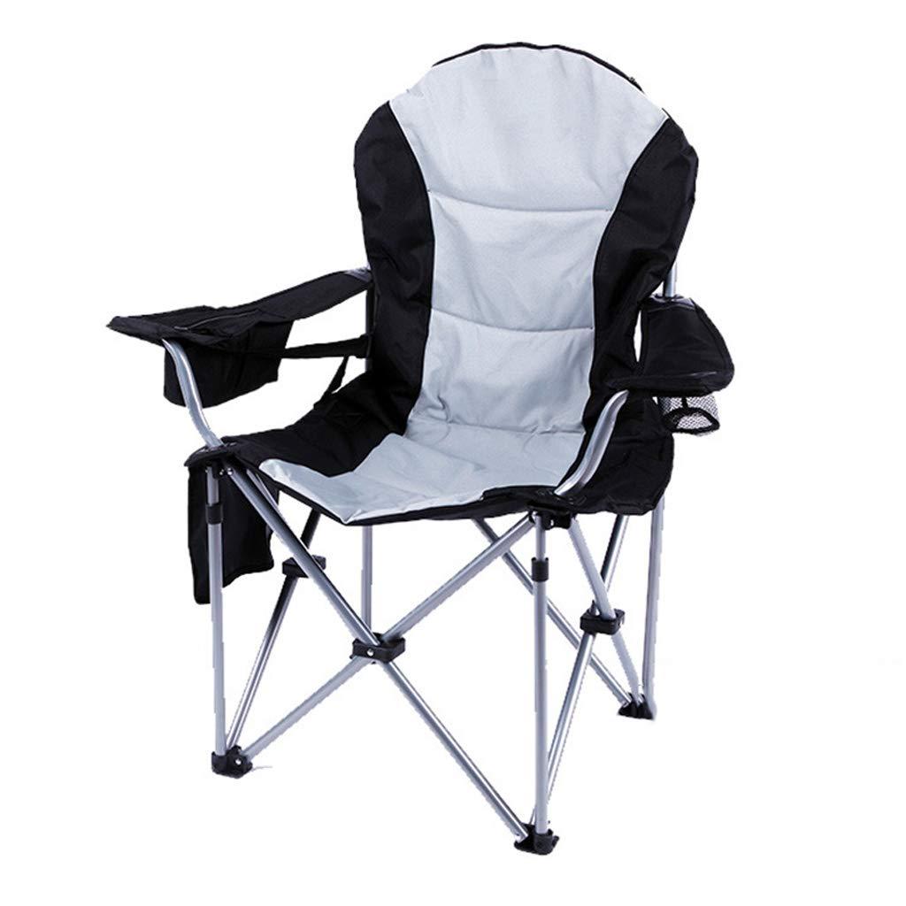 KAI LE Stuhl Outdoor Möbel Eisenrohr Luxus Sessel Klappstuhl Direktor Stuhl Strand Stuhl