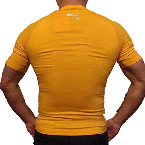 Rond Pour Orange Col Compression Puma De Homme À Shirt ATWwXw4xqY