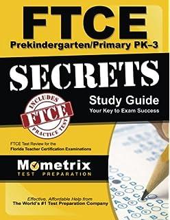 Ftce prekindergarten/primary pk-3 practice test questions.