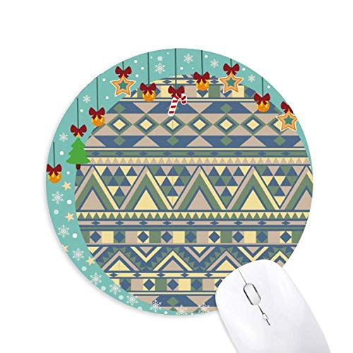 Rhombus Triangle Irregular Nordic Mouse Pad Jingling Bell Round Rubber Mat
