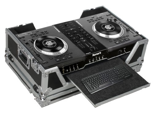 Marathon Flight Road Case MA-NS7WV2 Case To Hold 1 X Numark Ns7 Serato Itch Controller with Keyboard Tray by Marathon